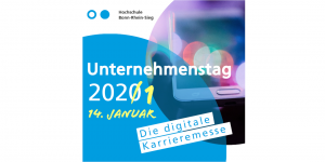 Unternehmenstag - Die digitale Karrieremesse am 14. Januar 2021